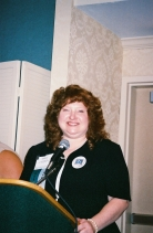 Gayla Speaks at GOLD/GALILEO 2006