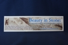 Beauty in Stone Bookmark