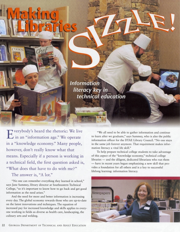 Article: Making Libraries Sizzle