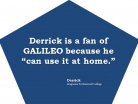 Use GALILEO at Home