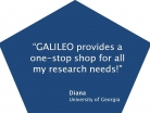 GALILEO: One-Stop Shop for Research