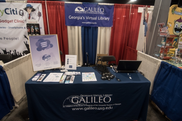 GALILEO Booth Display for GaETC 2015