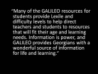 Lexile Reading Levels Help Students and Teachers