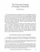 Article: The University System of Georgia's GALILEO