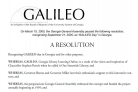 GALILEO Day Resolution