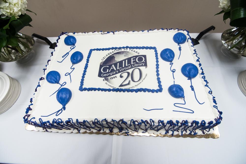 20th Birthday Cake At The University System Office Galileo Scrapbook